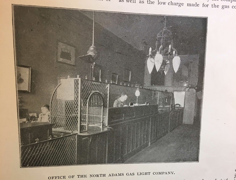 The Office of the North Adams Gas Light Company